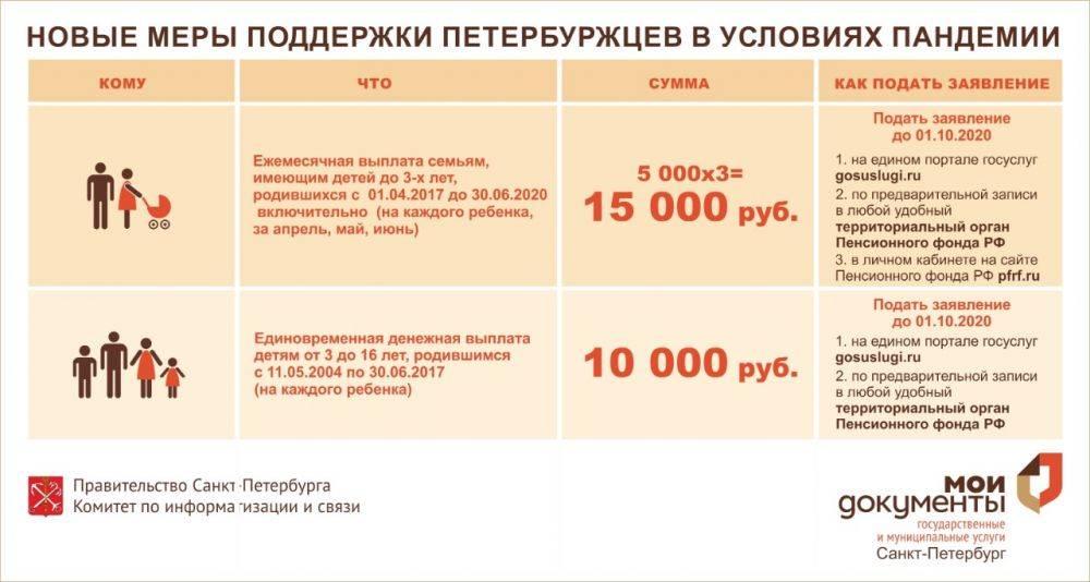Выплата 5000 рублей детям до 3 лет: пошаговая инструкция с фото