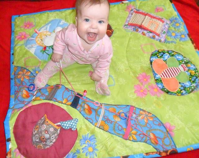 Детский коврик своими руками (идеи, как сшить)