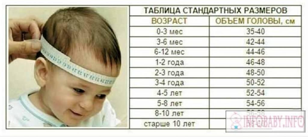 Размер головы ребенка до года по возрасту: важный показатель здоровья