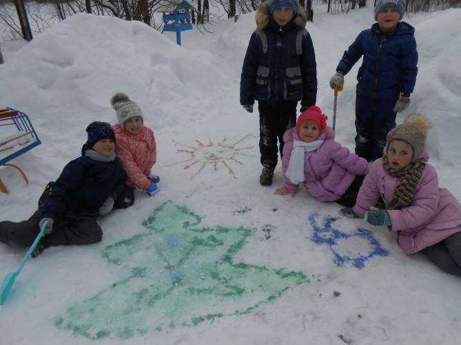 Спортивное развлечение для детей старшего дошкольного возраста «зимние забавы на улице»