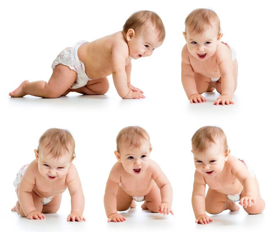 Этапы развития ребенка: начал ползать, агукать, ходить, улыбаться, говорить и т.д.
