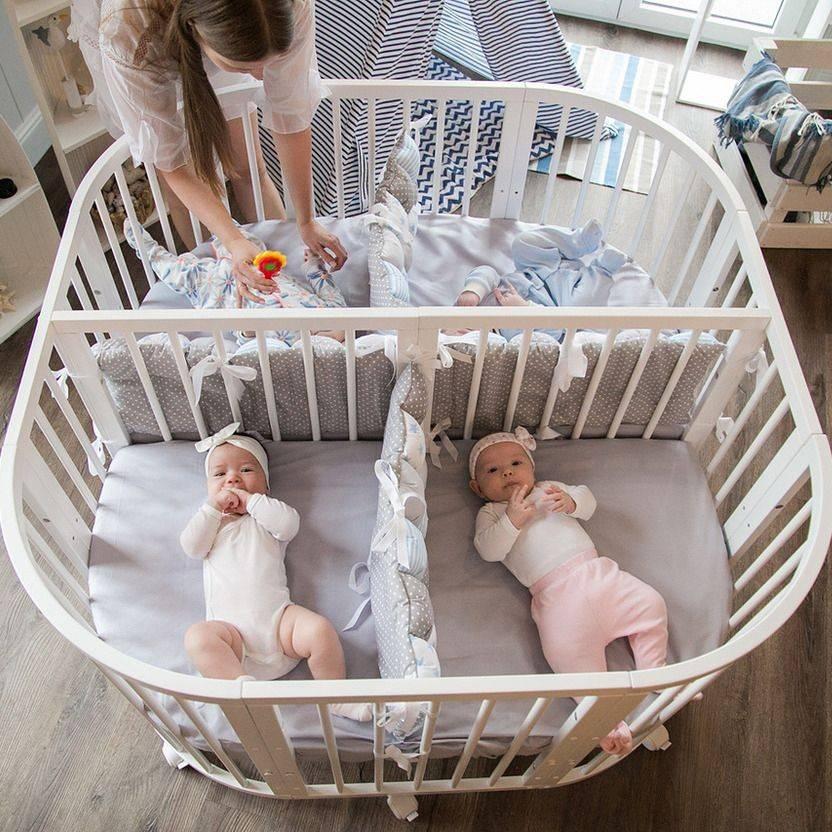 Комната для двойняшек мальчиков, девочек, разнополых детей