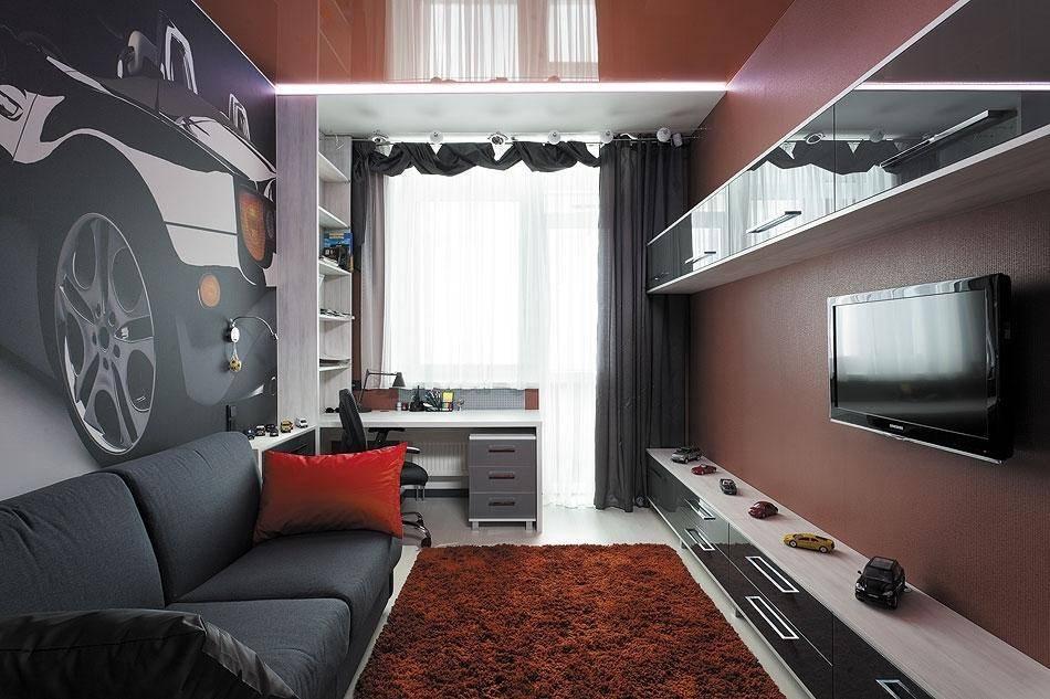 Дизайн детской комнаты для мальчика