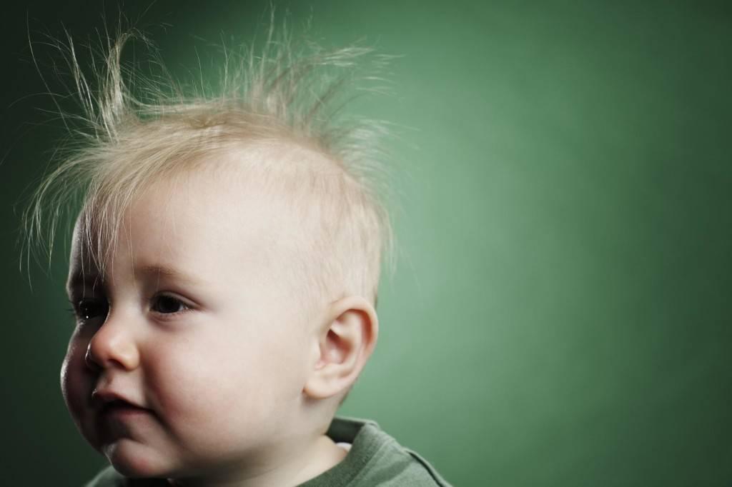 Облысение у детей: причины, лечение, профилактика