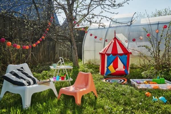 Детские площадки для дачи — игровые комплексы и идеи при постройке площадки для детей (80 фото)