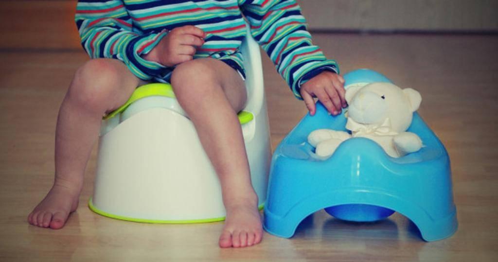 Как приучить ребенка к горшку, если он категорически не хочет на него сесть?