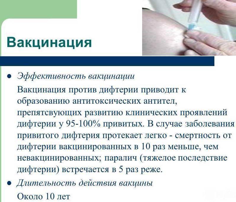 Противопоказания к проведению вакцинации