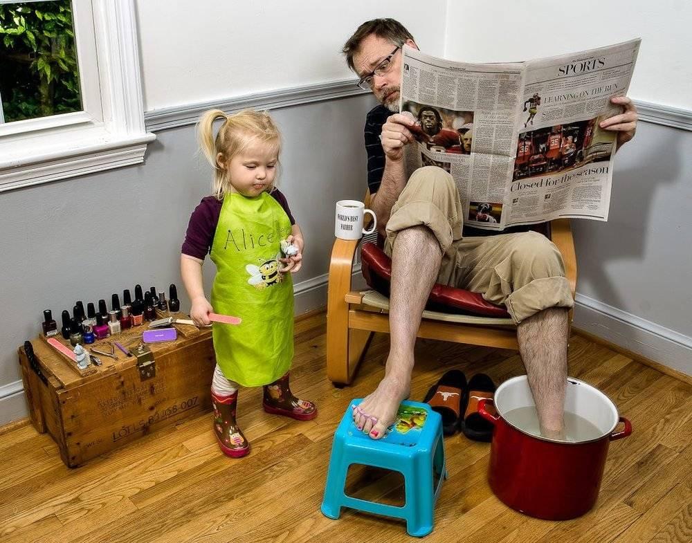 Во что играть с ребенком: 8 игр по три минуты для занятого папы