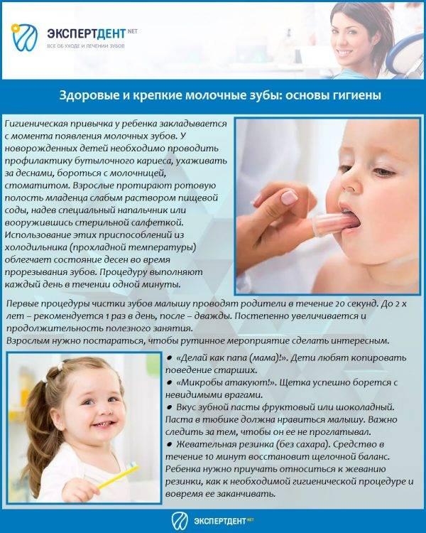 Кариес молочных зубов: причины возникновение, лечение, профилактика