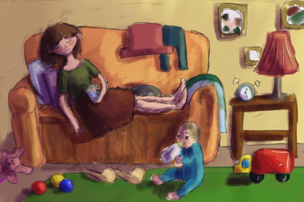 После бабушки ребенок неуправляемый
