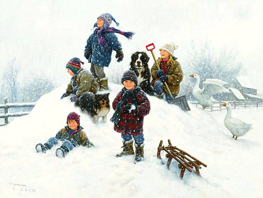Сценарий мероприятия «зимние забавы на улице» в учреждении для несовершеннолетних