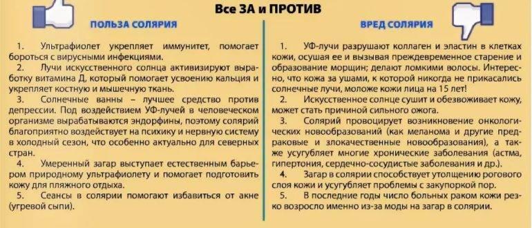 Загораем без вреда для здоровья: плюсы и «подводные камни» солярия - новости yellmed.ru