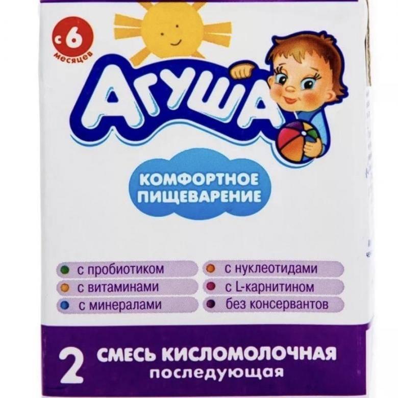 Как давать детскую смесь агуша