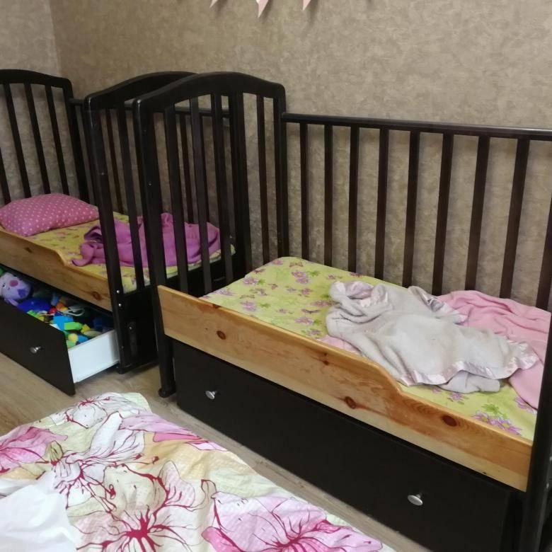 Детская кроватка для двойни: виды моделей, как выбрать?