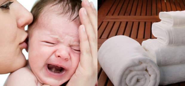 Как успокоить плачущего ребенка