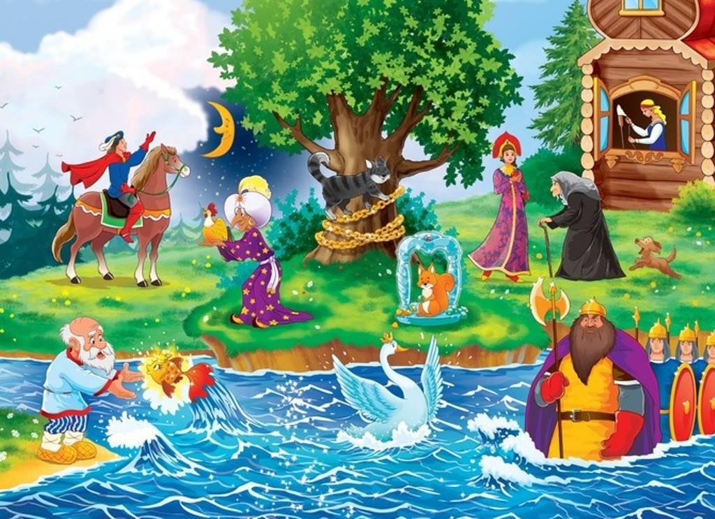 Викторина «путешествие по сказкам» (средняя группа)