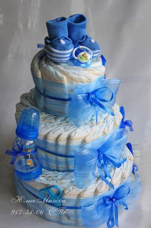 Готовим торт из памперсов своими руками: «рецепты» красивых подарков для мальчиков и девочек. торт из памперсов своими руками: мастер класс