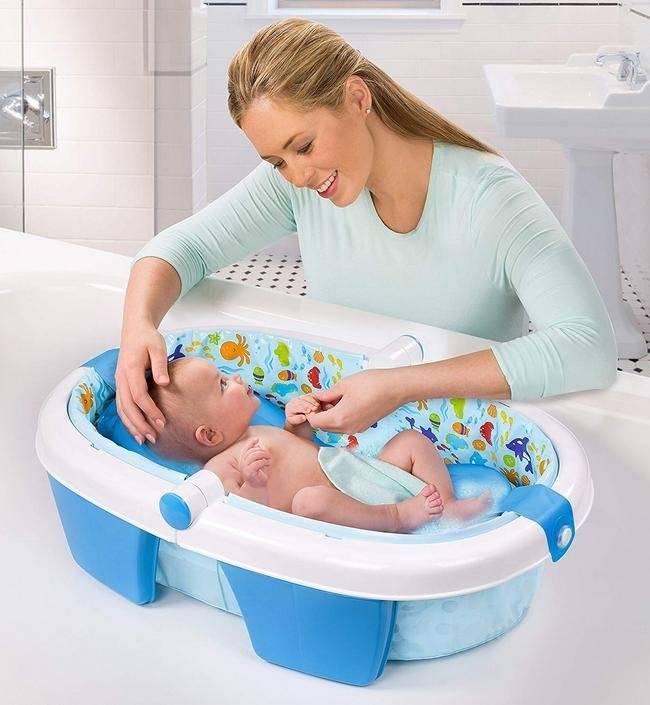 12 лучших ванночек и горок для купания новорожденных - рейтинг 2021