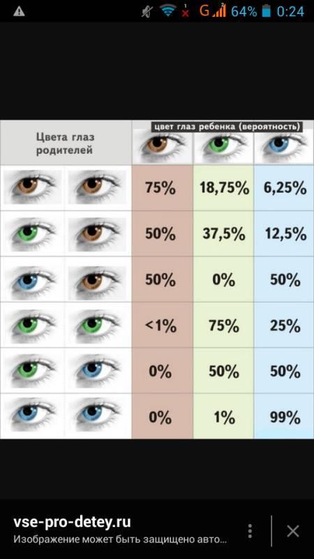 Какой цвет глаз у ребёнка будет от родителей - таблица oculistic.ru какой цвет глаз у ребёнка будет от родителей - таблица