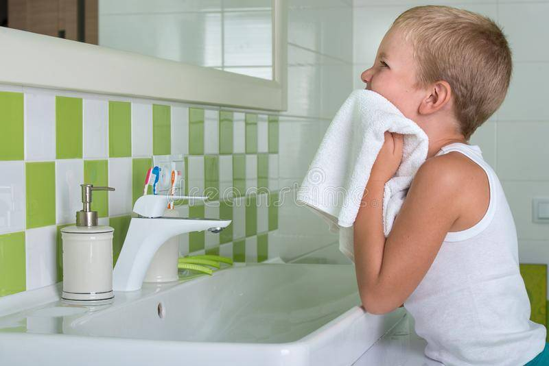 Гигиена полости рта у детей первого года жизни