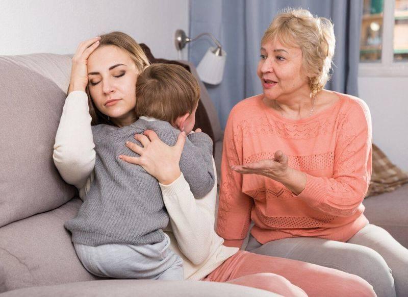 Бабушка, мама, ребенок: как бороться с навязчивыми советами бабушек и отстоять свою точку зрения без скандала? - впервые мама