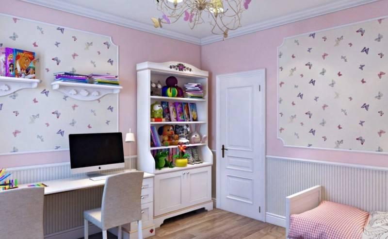 Какие обои выбрать для детской комнаты: виды, цвета, дизайн, фото