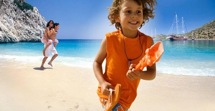 Лучшие пляжи европы для отдыха с детьми