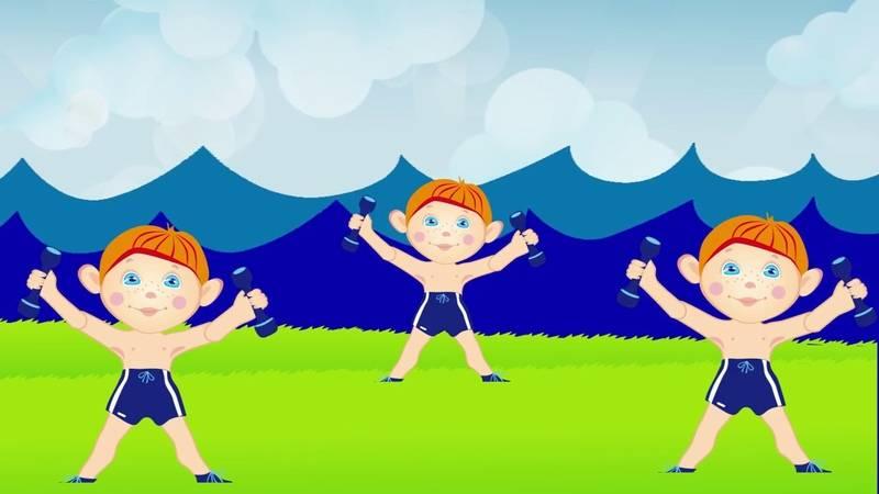 Видео зарядка для детей: веселые упражнения под музыку, утренняя мульт-зарядка