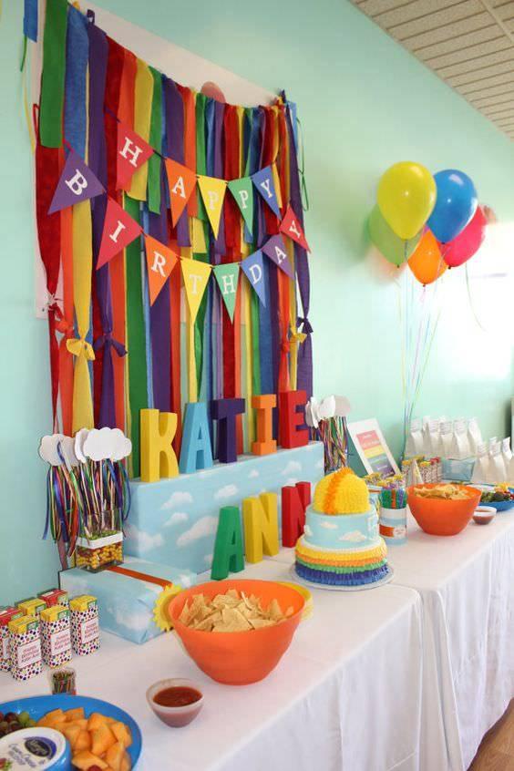 Как украсить комнату к дню рождения ребенка своими руками