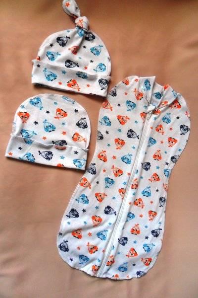 Как пользоваться пеленкой-коконом для новорожденных: с капюшоном и с замком