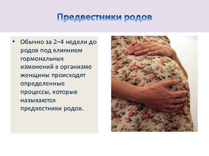 42 неделя беременности (3 триместр)