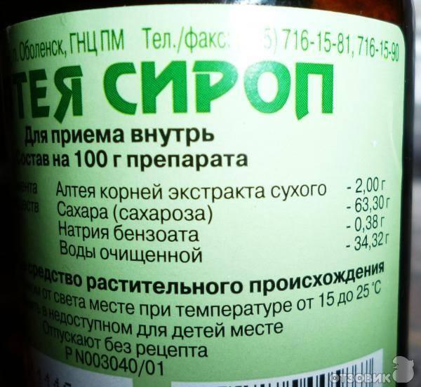 Алтей сироп аналоги и цены - поиск лекарств