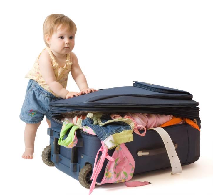 Прогулка с ребёнком: что взять с собой?