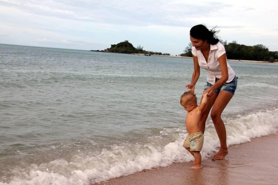 Отдых с ребенком до года