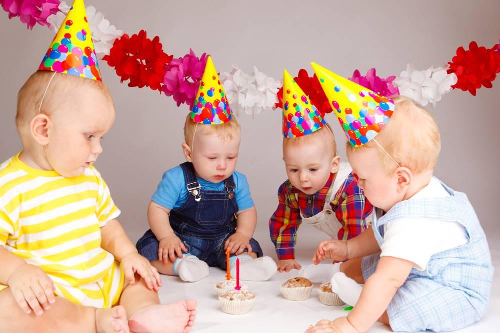 День рождения. один годик