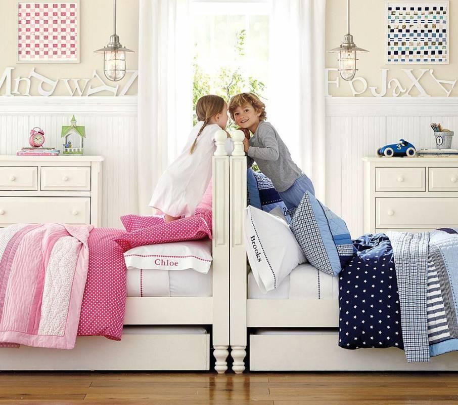 Разнополые дети в одной комнате: плюсы, минусы, возраст, рекомендации психологов