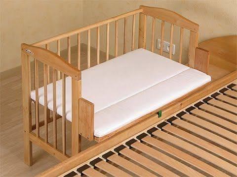 Кровать трансформер для новорожденных и виды детских кроваток