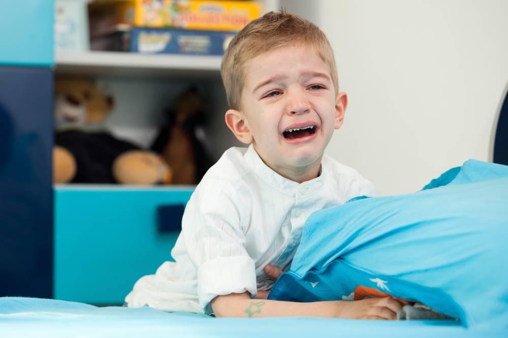 Ночные истерики у ребенка