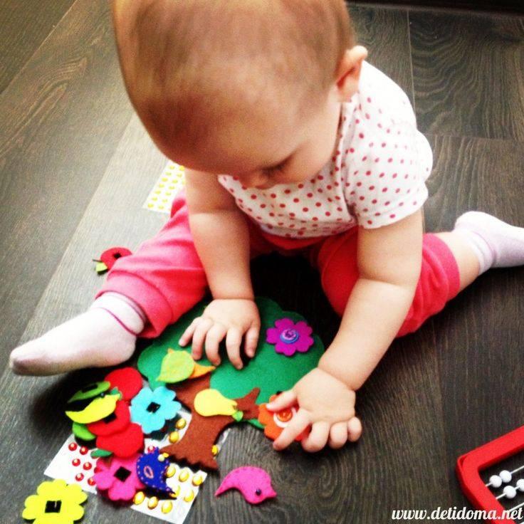 Игры с ребёнком в 1-3 месяца