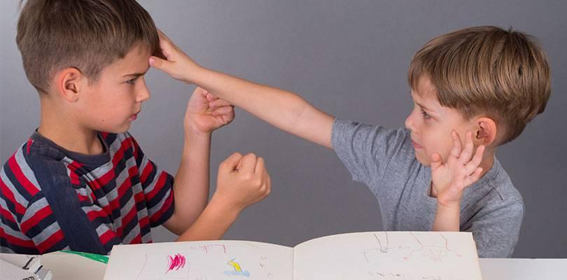 Как научить мальчика 1,5 лет постоять за себя