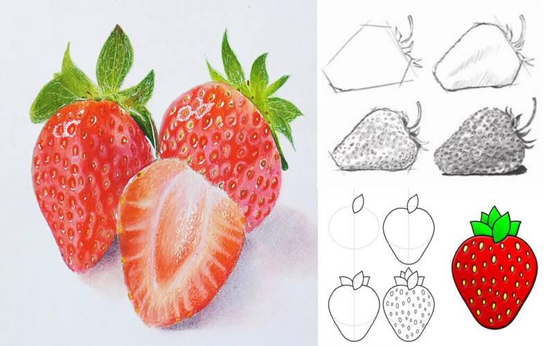 Конспект занятия «овощи и фрукты— самые полезные продукты» по рисованию в старшей группе. воспитателям детских садов, школьным учителям и педагогам - маам.ру