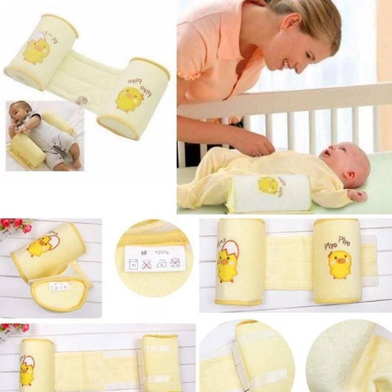 Позиционер для сна новорожденного: фото, как сделать своими руками, видео