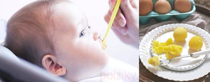 Когда и как вводить яйцо в прикорм ребенку