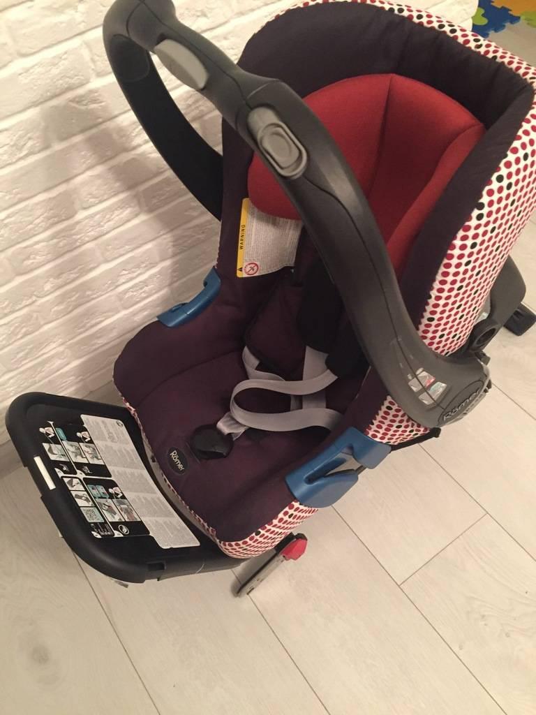 Автокресло britax romer baby-safe plus ii shr (бритакс ромер беби-сейф плюс два эсэйчар)