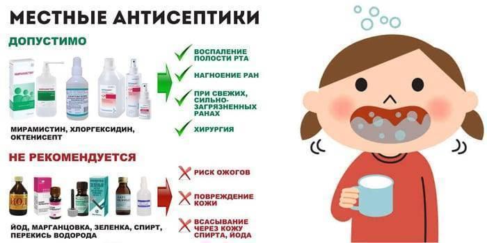 Лечение стоматита у детей – симптомы во рту, фото у грудничков