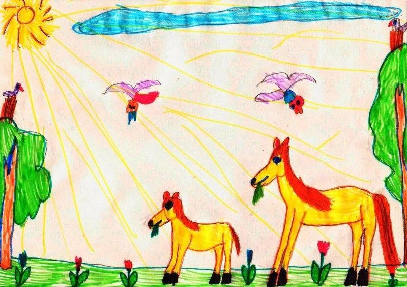 Анализ детских рисунков. что в них видят психологи? - воспитание и психология