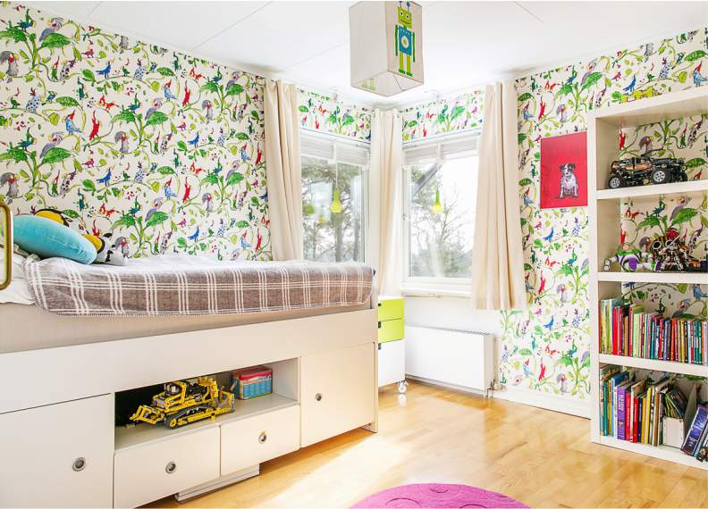 Шторы в детскую — стильные, красивые, актуальные идеи и сочетания для детских комнат (105 фото)