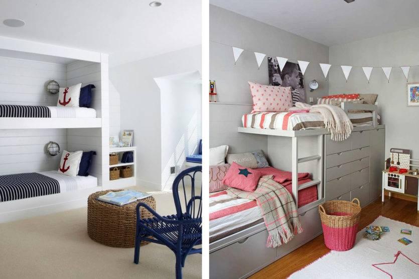 Какие обои подобрать в детскую комнату для разнополых детей?