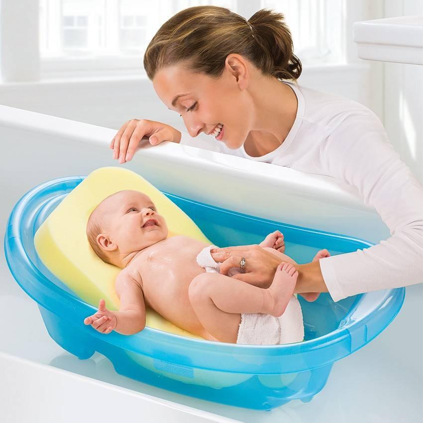 Ванночки для купания новорожденных детей – как купать и правильно выбрать