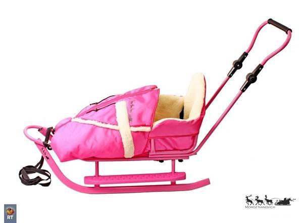 С какого возраста можно возить ребенка в коляске санках